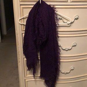 Accessories - Purple Scarf